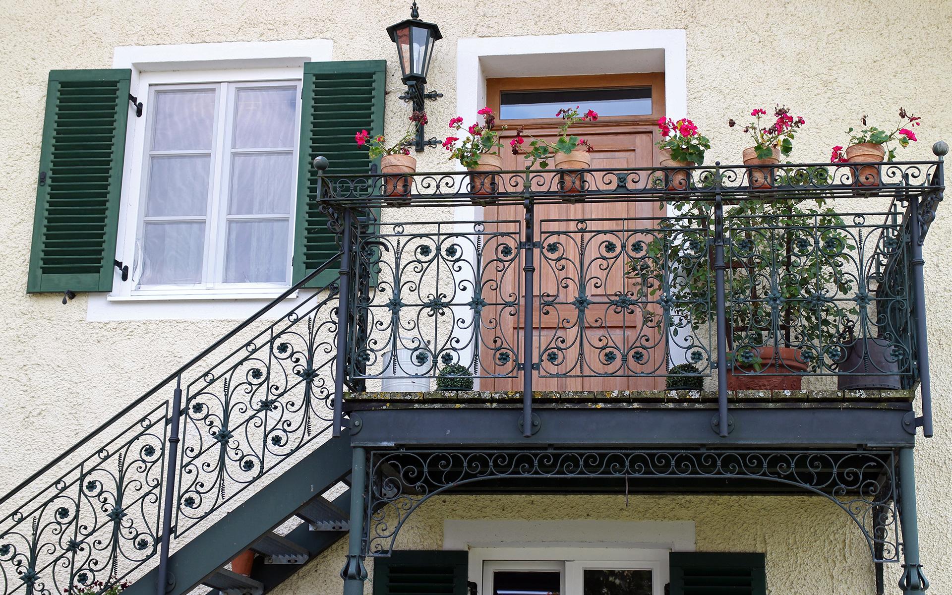Kunstschmiede Szlavik Balkon1 Fachgebiete