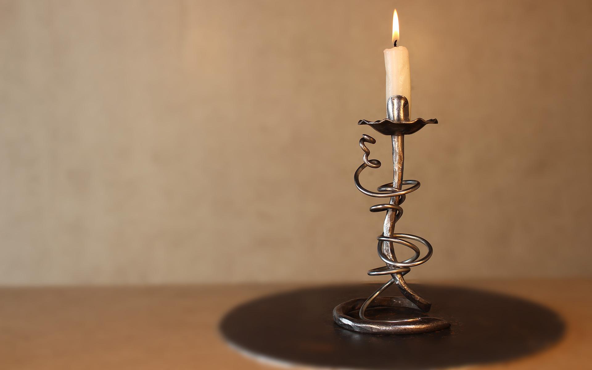Kunstschmiede Szlavik Kerzenhalter1 Fachgebiete